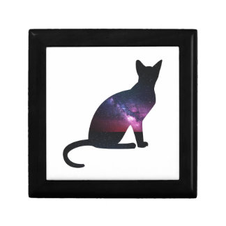 Cat that shows the galaxy and the big universe gift box