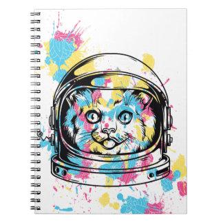 cat the astronuat notebooks