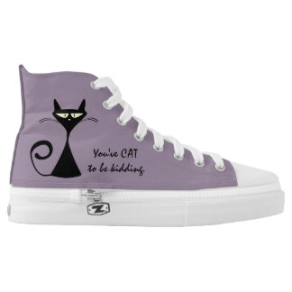 Cat themed high tops
