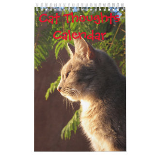Cat Thoughts Calendars