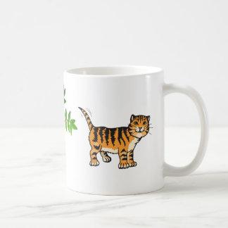 cat tiger mug
