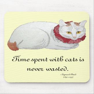 Cat Time Mousepad