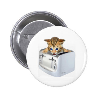 Cat Toaster Pins