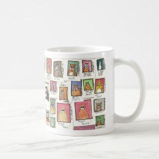 Cat-toons Basic White Mug