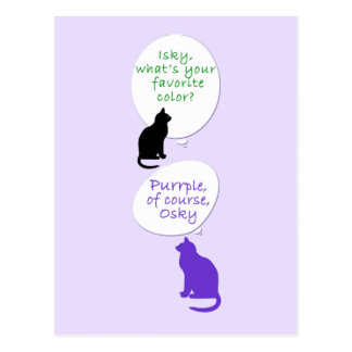 Cat-toons Post Cards