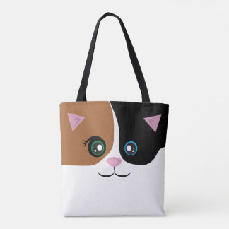 Cat Tote - Calico