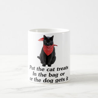 Cat Treats Coffee Mug