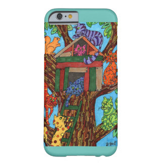 Cat Tree House Barely There iPhone 6 Case