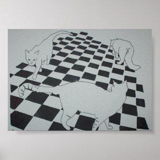 cat triad poster