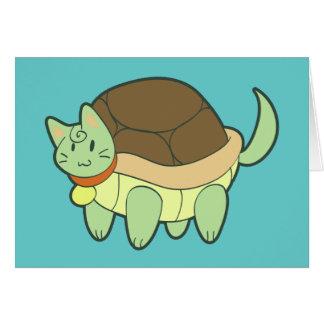Cat Turtle Card