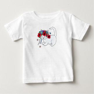 Cat Ukrainian Folk Art Baby T-Shirt