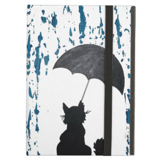 Cat Under Umbrella iPad Air Cover