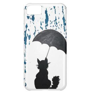 Cat Under Umbrella iPhone 5C Case