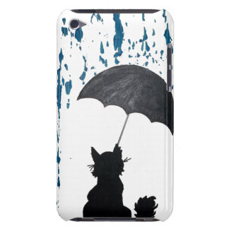Cat Under Umbrella iPod Touch Covers