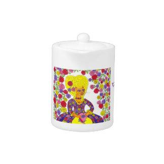 Cat Valentine - Porcelain Tea Pot