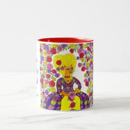 Cat Valentine, PURR-fect Valentine - 2-toned Mug