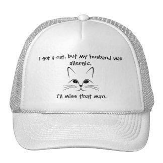 Cat vs Husband Hat
