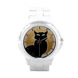 Cat Watch Black Cat Wrist Watch Cat Lover Jewerly