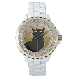 Cat Watch Black Cat Wrist Watch Cat Lover Jewerly