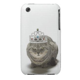 Cat wearing a tiara iPhone 3 cover
