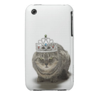 Cat wearing a tiara iPhone 3 cover