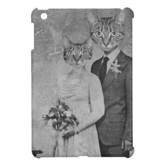 Cat wedding iPad mini case