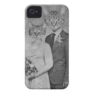 Cat wedding iPhone 4 Case-Mate case