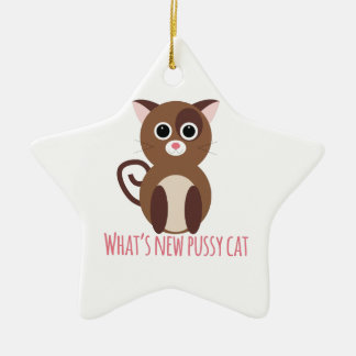 cat_whats new pussy cat ornament