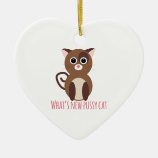 cat_whats new pussy cat christmas tree ornament