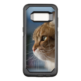 Cat whiskers in the sun OtterBox commuter samsung galaxy s8 case