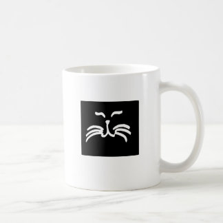 Cat Whiskers Coffee Mugs