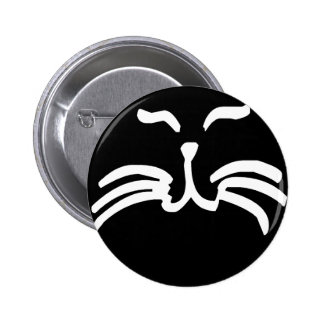 Cat Whiskers Pinback Button