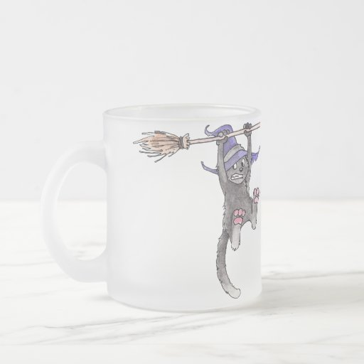 Cat Witch Mug