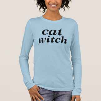 cat witch tshirt