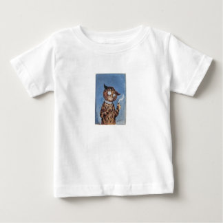 Cat With A Cigar Baby T-Shirt
