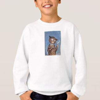 Cat With A Cigar Sweatshirt