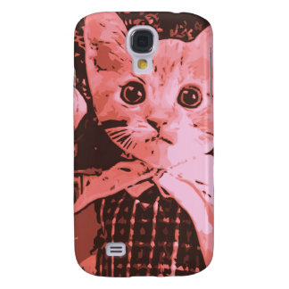 Cat with ball galaxy s4 covers