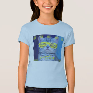 Cat with glasses T-Shirt