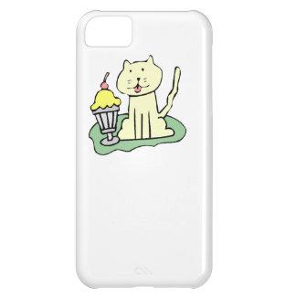 Cat With Ice Cream iPhone 5C Case