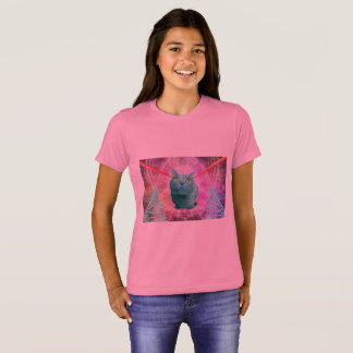 Cat with laser eyes T-Shirt