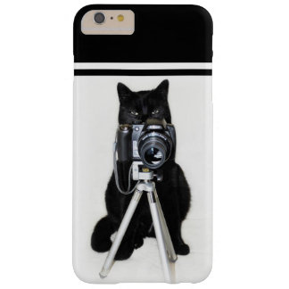 Cat with the camera barely there iPhone 6 plus case