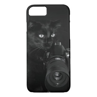 Cat with the camera iPhone 8/7 case