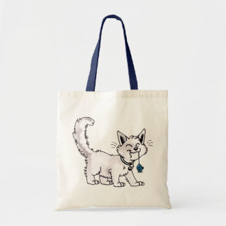 Cat with Toy Mouse Bag
