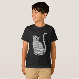 cat with words art transparent T-Shirt