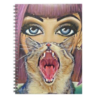 Cat Woman Notebooks