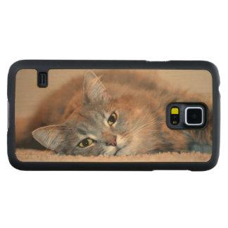 Cat Maple Galaxy S5 Case