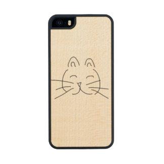 Cat Wood iPhone SE/5/5s Case