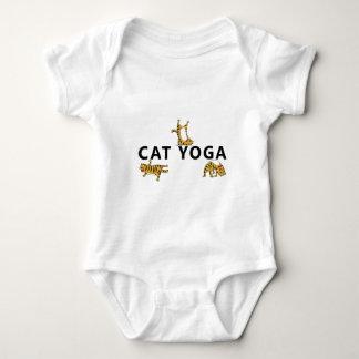 cat yoga baby bodysuit