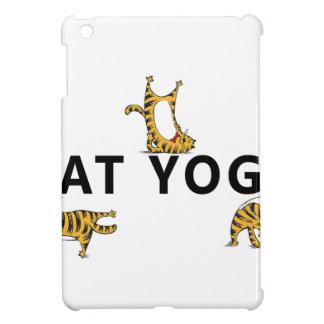 cat yoga iPad mini cover