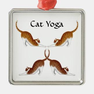 Cat Yoga Poses Ornament